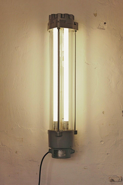 Short Wittenberg Explosion Proof Fluorescent Light